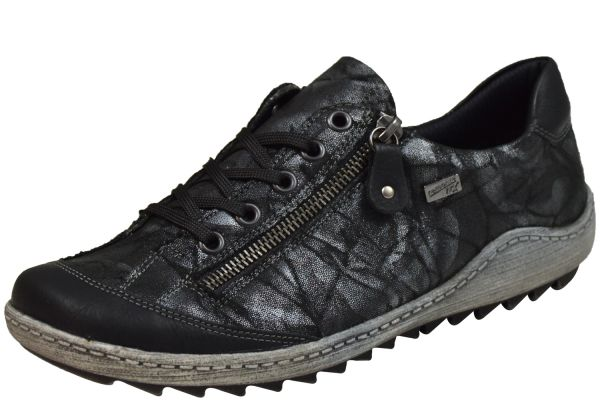 Remonte R1402-05 Damen Allwetter Sneaker Wechselfußbett schwarz kombi