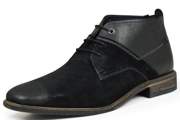 s.Oliver 5-15103-27 Herren Chukka Boots schwarz