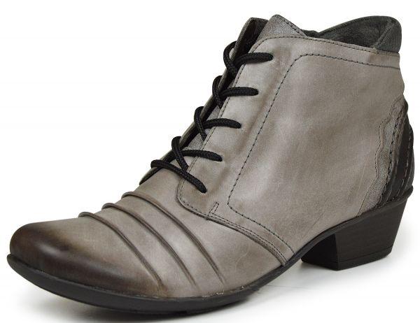 Remonte D7387-42 Damen Combat Boots grau kombi
