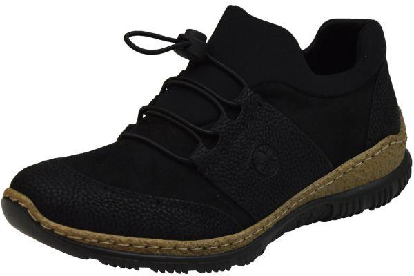 Rieker N32X8-00 Damen Sneaker / Slipper schwarz