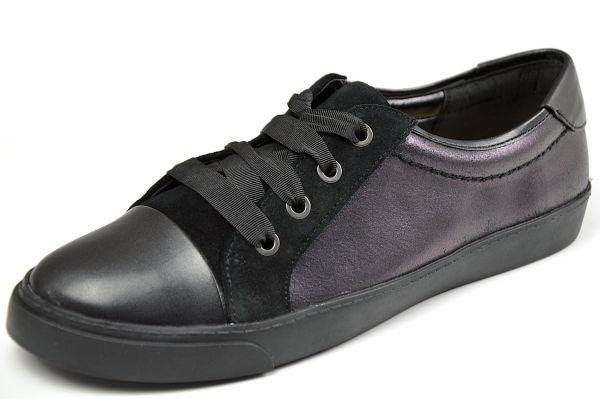 Clarks Glove Magic Damen Schnürschuhe, Sneaker, schwarz
