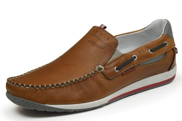 Grisport 40814oV Herren Mokassin Slipper Deep brown
