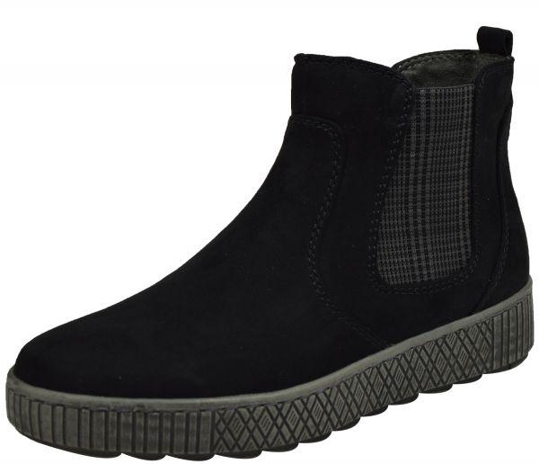 Jana 8-25461-25 Damen Ancle Boots schwarz