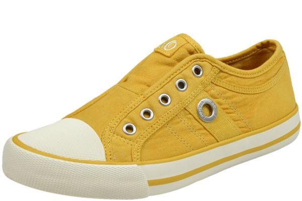 s.Oliver 5-24635-24 Damen Sneaker gelb