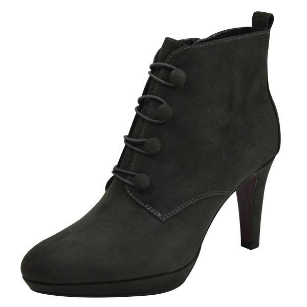 s.Oliver 5-25320-21 Damen High Heels, Stiefeletten grau ( anthracite )