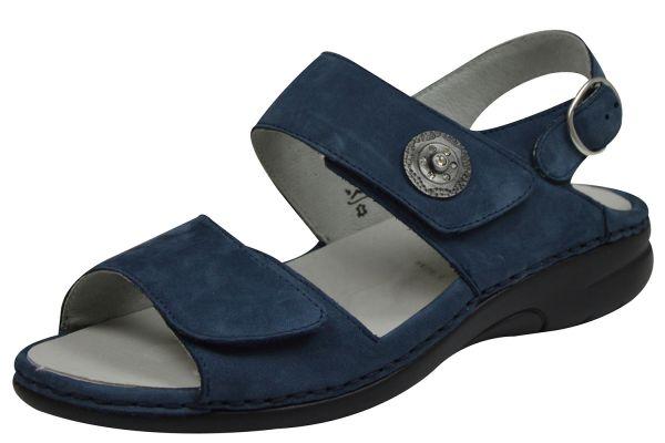 Waldläufer Gunna 204001 191 206 Damen Sandalen jeans blau