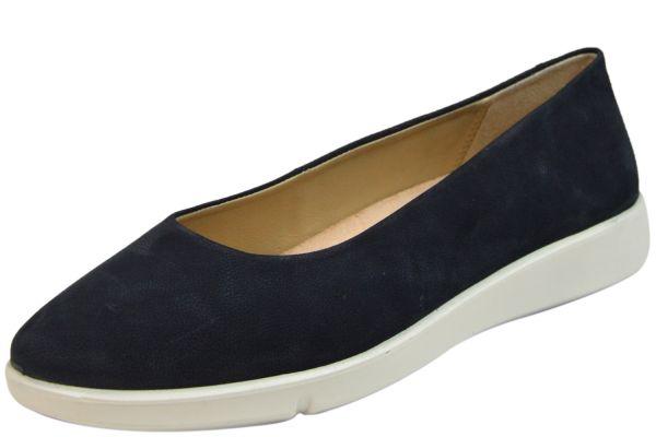 Legero Lucca 0-609888-8300 Damen Ballerina Slipper oceano blau