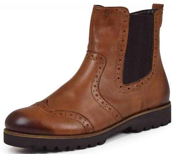 Remonte D0174-24 Damen Chelsea Boots Wechselfußbett braun