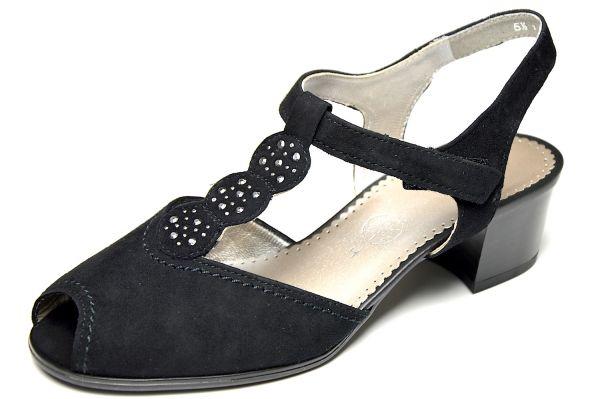 Ara Wien Damen Sandalen schwarz