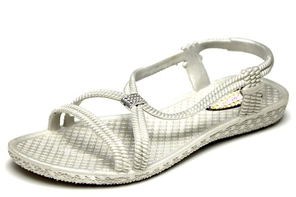 Siebi`s Tenno Bade- und Dusch Sandale grau