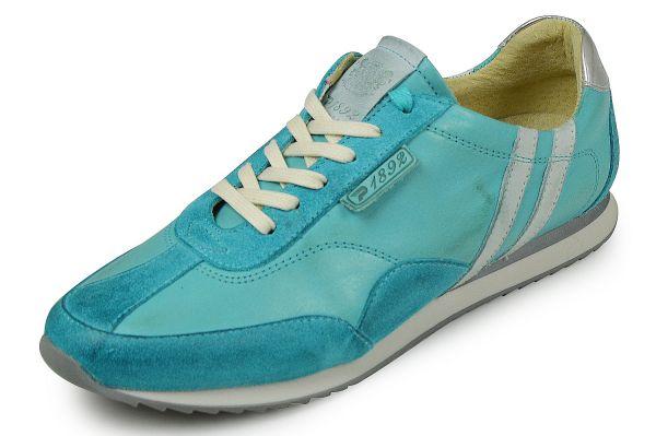 PATRICK 1892 Bluebird P151057 Damen Sneaker Wechselfußbett türkis