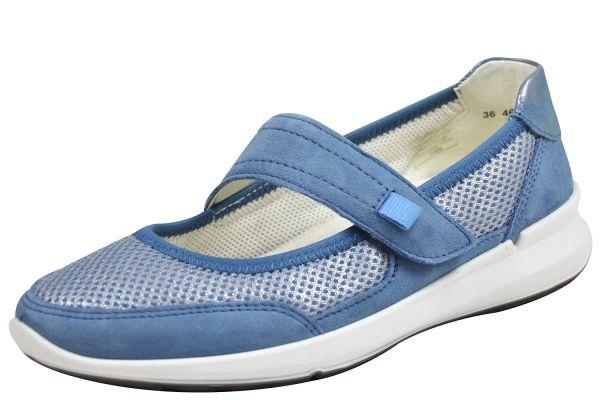 Ara Frisco 12-15622 flex2go Damen Sneaker blau