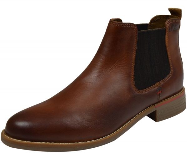 s.Oliver 5-25335-35 Damen Chelsea Boots cognac (braun)