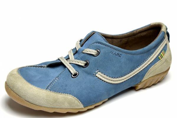 MARC 1.630.19-19 Cora Damen Schnürer jeans- grey