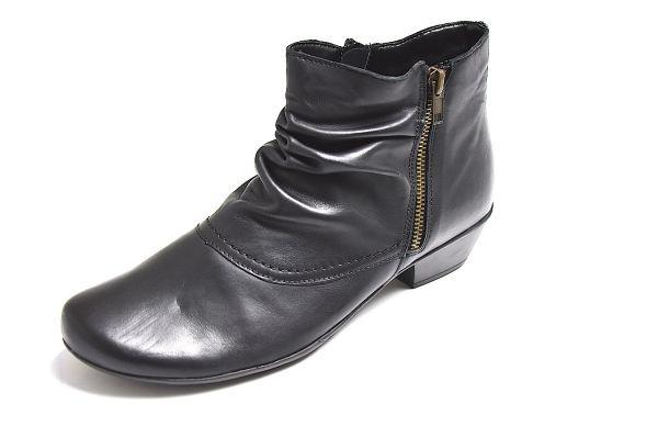 Remonte D7382-01 Damen Stiefelette Weite H schwarz