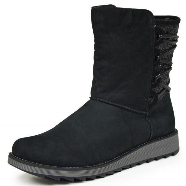 Remonte D8871-02 Damen Kurzschaft Stiefel schwarz