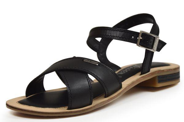 s.Oliver 5-28131-38 Damen Sandaletten, schwarz