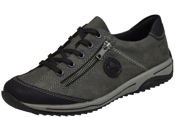 Rieker L5224-00 Damen Sneaker grau kombi