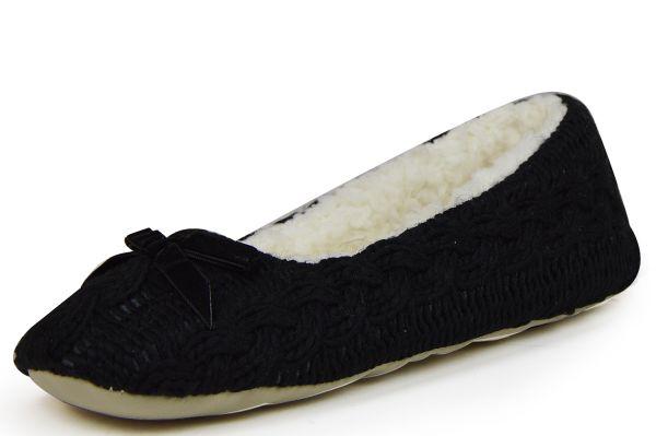 Linea Scarpa Zell Damen Hausschuhe schwarz