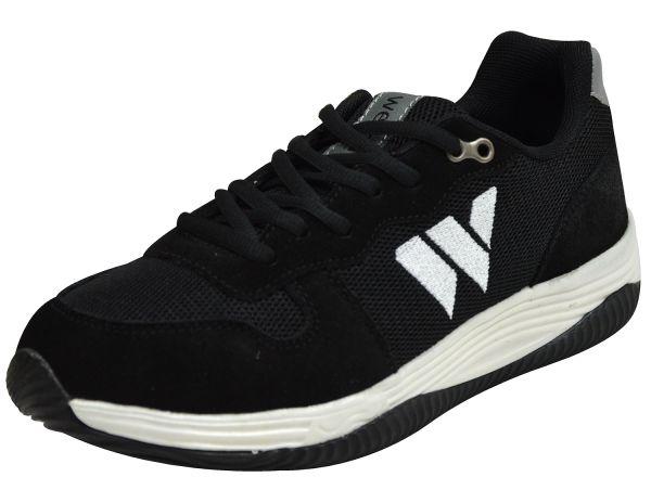 Wellbe Sydney unisex Sneaker schwarz