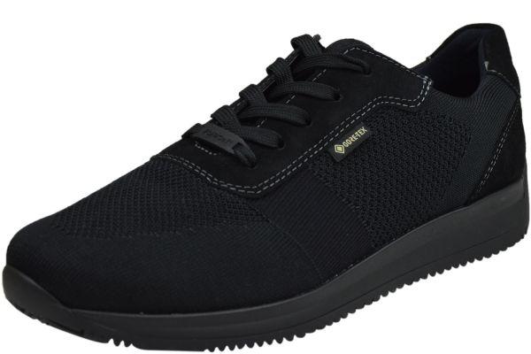Ara Lisboa Fusion4 Gore Herren Komfort Sneaker schwarz