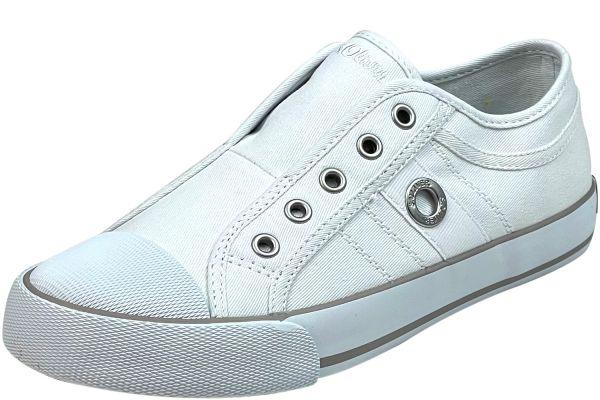 s.Oliver 5-24635-26 Damen Sneaker weiß